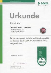 werkstatttest dekra 2010